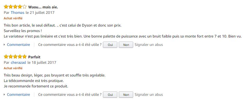 Dyson_Pure_Cool_Link_purificateur_air_meilleurs_commentaires_clients_amazon